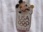 Disney Trading Pins 30889: USA Olympic Logo - Mickey Mouse