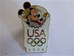 USA Olympic Logo - Minnie Mouse