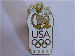 Disney Trading Pin 30891 USA Olympic Logo - Donald Duck