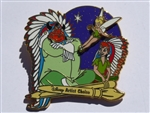 Disney Trading Pin  30985 WDW - Tink's Summer Pin Quest - Artist Choice - Indian Chief, Peter Pan and Tink