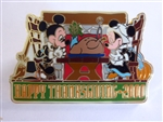 Disney Trading Pin   3109 Happy Thanksgiving 2000