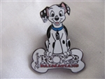 Disney Trading Pin 3121: DS - 102 Dalmatians (Domino with Bone Logo)