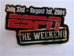 Disney Trading Pins  31826 WDW - ESPN the Weekend Logo Pin (Disney-MGM Studios)