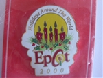 Disney Trading Pin   3183 Epcot - Holidays Around The World 2000