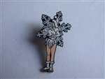 Disney Trading Pin 3201 DLR - Christmas Parade Series (Snowflake on Rollerskates)