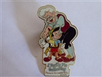 Disney Trading Pin 32617 WDW - A Family Pin Gathering - Pinocchio and Geppetto