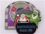 Disney Trading Pin 33186 DLR - Doom Buddies Collection (Oogie and Santa)