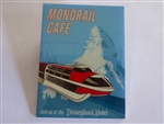 Disney Trading Pin 33290 DLR - Annual Passholder Dining Series (Monorail Cafe)