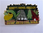 Disney Trading Pin 3334: Disney's Animal Kingdom, Step Into the Wild