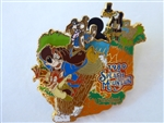 Disney Trading Pin 33646 DLR - Splash Mountain 15th Anniversary Collection (The Drop)