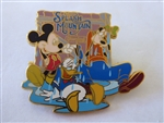 Disney Trading Pin 33648 DLR - Splash Mountain 15th Anniversary Collection (The End)