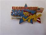 Disney Trading Pin 33934 DLR - Election Day 2004 (Pluto)