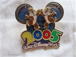 Disney Trading Pin 33958: WDW - 2005 Collection (Chip 'n' Dale)
