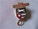 Disney Trading Pin   34120 WDW - Saratoga Springs Resort & Spa Horseshoe Dangle