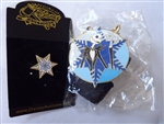 Disney Trading Pin 34233 Disney Auctions (P.I.N.S.) - Nightmare Jack Snowflake (Lanyard & Pin Set)
