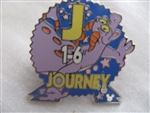 Disney Trading Pin  34467: WDW Cast Lanyard Series #3 - Epcot Parking Signs With Figment (Journey)