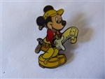 Disney Trading Pins 3464 DLR - Mickey Contractor Black Epoxy Production Sample