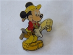 Disney Trading Pins 3464 DLR - Mickey Contractor Silver Epoxy Production Sample