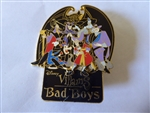 Disney Trading Pins 3483 DLR - Disney Villains - Bad Boys (Boxed Pin) Production Sample