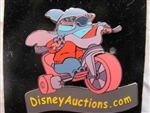 Disney Trading Pin 34841 Disney Auctions - Stitch on Tricycle on DA Logo (GWP)