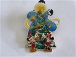 Disney Trading Pin 35232 WDW - Cast Exclusive - Happy Holiday 2004 (Mickey, Minnie, Tink & Genie)