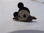 Disney Trading Pin 3541 Disneyland January 2001 Mini Pin - Skull Rock