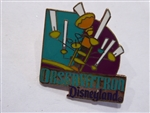 Disney Trading Pin 355: DL - 1998 Attraction Series - Tomorrowland Observatron