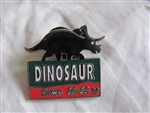 Disney Trading Pins 35554: WDW - Cast Lanyard Series 3 - Animal Kingdom Parking Sign (Dinosaur)