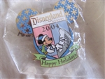 Disney Trading Pin 35675: DLR - Cast Exclusive Holiday Series - Christmas Day 2004 (Mickey Mouse)
