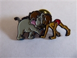Disney Trading Pins 35724 Mowgli and Baby elephant - Sedesma