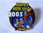 Disney Trading pins  35837 DLR - Cast Exclusive - Happy New Year 2005