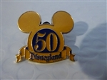Disney Trading Pins 36157 DLR Cast Exclusive - 50th Anniversary Mickey Ears