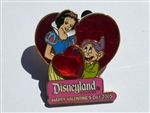 Disney Trading Pin 36332 DLR - Valentine's Day 2005 Collection (Snow White & Dopey)