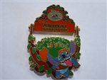 Disney Trading Pin 36392 DVC Member Exclusive - 2005 Collection (Animal Kingdom/Stitch)