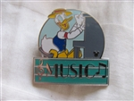 Disney Trading Pins 36532: WDW Cast Lanyard Series 3 - MGM Parking Sign (Donald/Music)