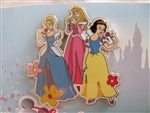 Disney Trading Pin 36574 Disney's Visa - Cardmember Exclusive #7 (Princess Flowers)