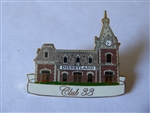 Disney Trading Pin 36726 Disneyland Club 33 Main Street Train Station artist proof