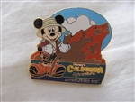 Disney Trading Pins 3729 DCA Grizzly Peak with Mickey