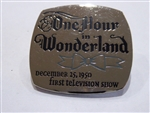 Disney Trading Pin 376: DS - Countdown to the Millennium Series #8 (One Hour in Wonderland - First Television Show)