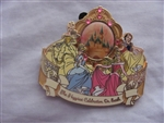 Disney Trading Pin 37653 WDW - Happiest Celebration on Earth (Four Princesses)