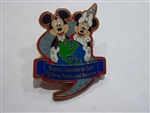 Disney Trading Pin 37762: Energizer® / Disney Parks Pin Collection - Happiest Celebration On Earth! (Mickey & Minnie)
