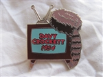Disney Trading Pin 379 DS - Countdown to the Millennium Series #94A (Davy Crockett 1954)