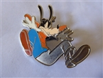 Disney Trading Pins  38053 Disney Animation Sketches Pin Set (Goofy Half-Painted) silver prototype