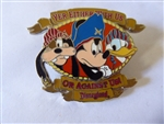 Disney Trading Pins 3806 DL - Yer Either With Us Or Against Us Pirates (FAB 3) silver prototype