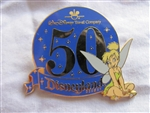 Disney Trading Pin 38235: DLR - WDTC 50TH Commemorative Package (Tinker Bell)