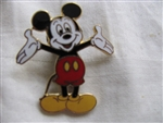 Disney Trading Pin 383: Mickey with arms Stretched Out