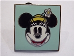 Disney Trading Pin 38470 Minnie Mouse - Face and Hat (Square)