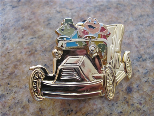 Disney Trading Pins 38482 DLR - Golden Vehicle Collection