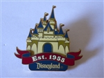 Disney Trading Pin 38491 DLR - Happiest Homecoming On Earth (Established 1955 Castle)