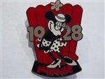 Disney Trading Pin  Countdown to the Millennium Series #100 (Minnie Mouse)